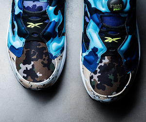 "全迷彩配色设计Reebok Instapump Fury Road CC""What The Camo"""