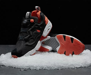 END. x Reebok 全新联名 Instapump Fury「Black Salmon」鞋款