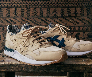 ASICS Tiger x COMMONWEALTH 联名 GEL-Lyte V「KULTURA」内地发售信息