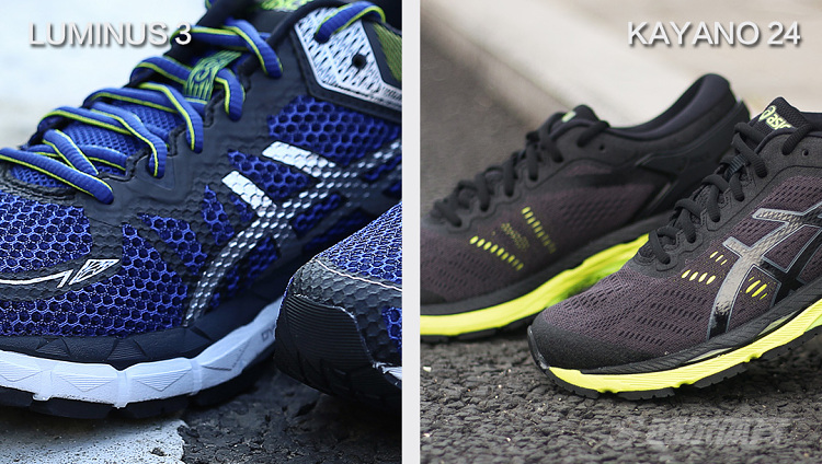 asics luminus vs kayano